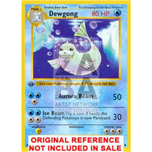 Dewgong 25/102 Base Extended Art Custom Pokemon Card