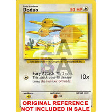 Doduo 48/102 Base Set Extended Art Custom Pokemon Card