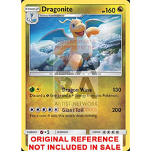 Dragonite 96-149 Sun & Moon Extended Art Custom Pokemon Card