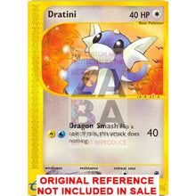 Dratini 107/165 Expedition Extended Art Custom Pokemon Card
