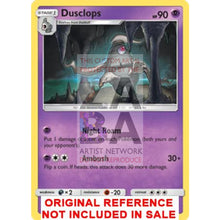Dusclops 52/147 Burning Shadows Extended Art Custom Pokemon Card