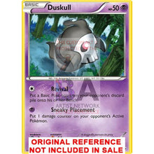 Duskull 38/106 Xy Flashfire Extended Art Custom Pokemon Card
