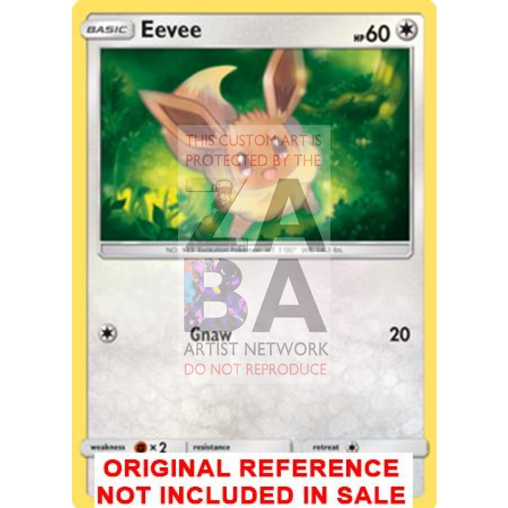Eevee//Evoli-Extended tipo custom Pokemon Card