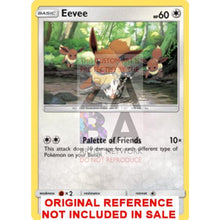 Eevee 105/138 Ultra Prism Extended Art Custom Pokemon Card