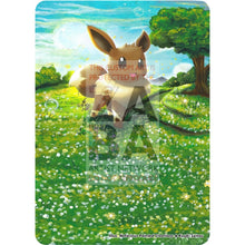 Eevee 36/98 Ancient Origins Custom Pokemon Card Textless Silver Holographic