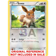 Eevee 36/98 Ancient Origins Custom Pokemon Card
