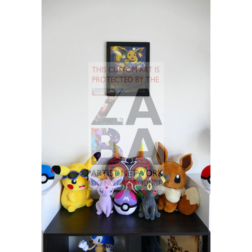 Eevee (56/95 Call Of Legends) 8.5 X 11 Poster Print By Edwin-San