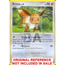 Eevee 59/111 Rising Rivals Extended Art Custom Pokemon Card