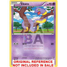 Ekans 47/146 Xy Extended Art Custom Pokemon Card