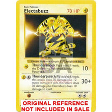 Electabuzz 20/102 Base Set Extended Art Custom Pokemon Card