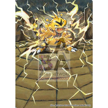 Electabuzz 29/111 Xy Furious Fists Extended Art Custom Pokemon Card Silver Holo