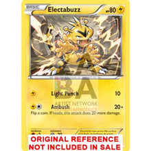 Electabuzz 29/111 Xy Furious Fists Extended Art Custom Pokemon Card