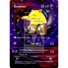 Entire Base Set Extended Art! (Choose A Single) Custom Pokemon Cards Drowsee Card