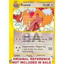 Fearow 45/165 Expedition Extended Art Custom Pokemon Card