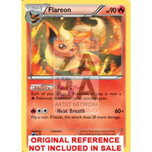 Flareon 13/98 Xy Ancient Origins Extended Art Custom Pokemon Card