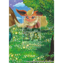 Flareon 2/17 Pop Series 3 Extended Art Custom Pokemon Card Silver Holo