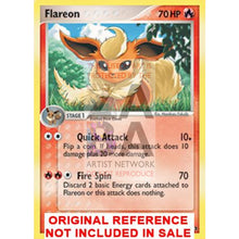 Flareon 2/17 Pop Series 3 Extended Art Custom Pokemon Card