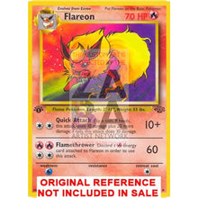 Flareon 3/64 Jungle V.2 Set Extended Art Custom Pokemon Card