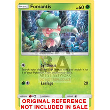 Fomantis 14/149 Sun & Moon Extended Art Custom Pokemon Card