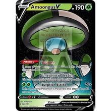 Amoongus V Custom Pokemon Card Green / Silver Foil