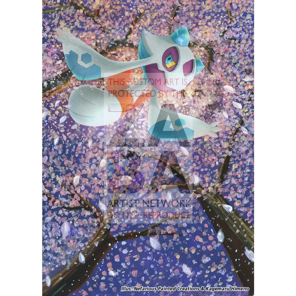 Froslass 3/146 Diamond & Pearl Legends Awakened Extended Art Custom Pokemon Card Silver Holo