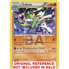 Gallade 81/113 Black & White Legendary Treasures Extended Art Custom Pokemon Card