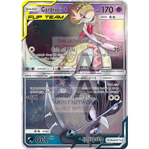 Gardevoir Flip Custom Pokemon Card