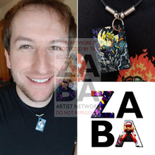 Giratina 10/127 Platinum Extended Art Custom Pokemon Card 18 Necklace (Pic For Reference)