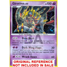 Giratina 10/127 Platinum Extended Art Custom Pokemon Card