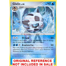 Glalie 18/99 Platinum Arceus Extended Art Custom Pokemon Card