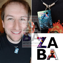 Greninja 41/146 Xy Extended Art Custom Pokemon Card 18 Necklace (Pic For Reference)