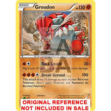Groudon 84/160 Xy Primal Clash Extended Art Custom Pokemon Card