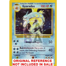 Gyarados 6/102 Base Set Extended Art Custom Pokemon Card