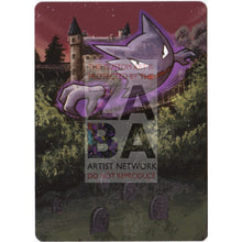 Haunter Xy Breakthrough 34/83 Extended Art Custom Pokemon Card Textless Silver Holographic