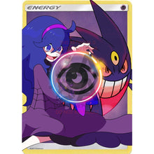 Hex Maniac + Mega Gengar Psychic Energy Custom Pokemon Card +Psychic Effect / Single