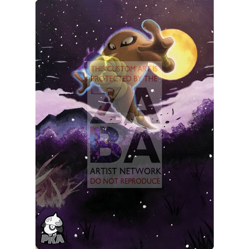 Hitmonlee 58/95 Call Of Legends Extended Art Custom Pokemon Card Silver Holographic