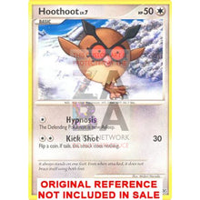 Hoot 85/130 Diamond & Pearl Extended Art Custom Pokemon Card