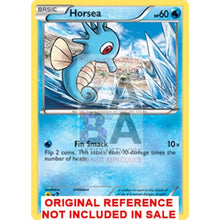 Horsea 18/116 Black & White Plasma Freeze Extended Art Custom Pokemon Card