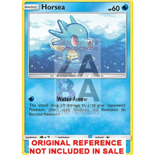 Horsea 29/147 Burning Shadows Extended Art Custom Pokemon Card