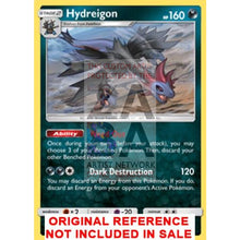 Hydreigon 62/111 Crimson Invasion Extended Art Custom Pokemon Card
