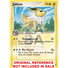 Jolteon 3/17 Pop Series 3 Extended Art Custom Pokemon Card