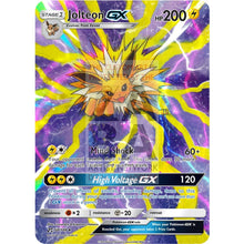 Jolteon Gx Extended Art Custom Pokemon Card