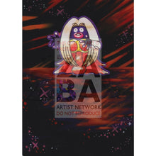 Jynx 31/102 Base Set Extended Art Custom Pokemon Card Textless Silver Holographic