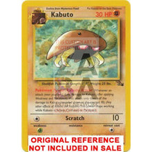 Kabuto 50/62 Fossil Extended Art Custom Pokemon Card