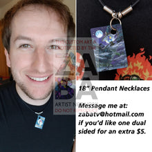 Lampent 22/135 Plasma Storm Extended Art Custom Pokemon Card 18 Necklace (Pic For Reference)