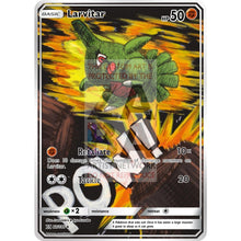 Larvitar Unseen Forces 61/115 Extended Art Custom Pokemon Card Non-Holographic