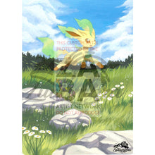Leafeon 7/111 Xy Furious Fists Extended Art Custom Pokemon Card Textless Silver Holographic