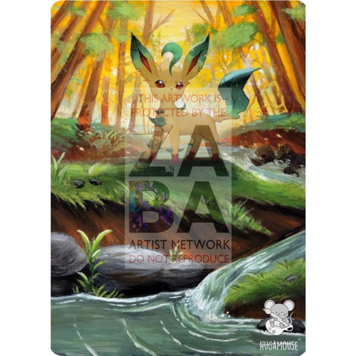 Leafeon Sm237 Sun & Moon Promo Extended Art Custom Pokemon Card