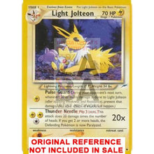Light Jolteon 48/105 Neo Destiny Extended Art Custom Pokemon Card