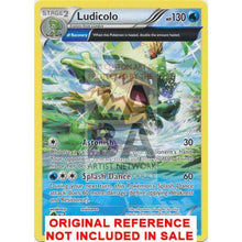 Ludicolo 37/160 Xy Primal Clash Extended Art Custom Pokemon Card